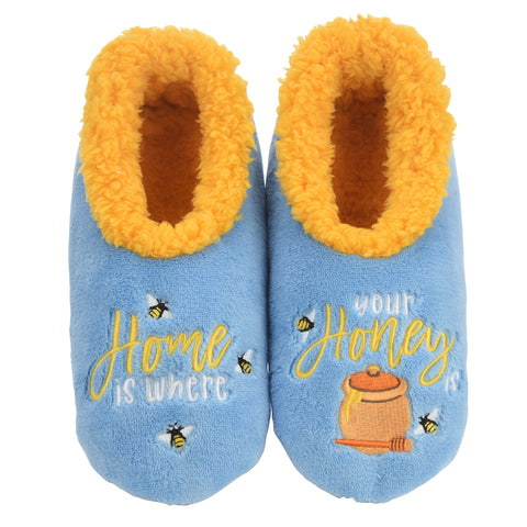 snoozies! Home Is Where Your Honey Is Slippers