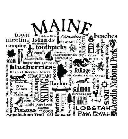 Where Life Takes You Maine Tank Top
