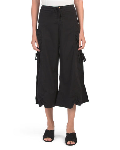 Cropped Cargo Pants