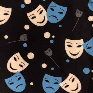 Comedy & Tragedy Masks Leggings Limited Edition
