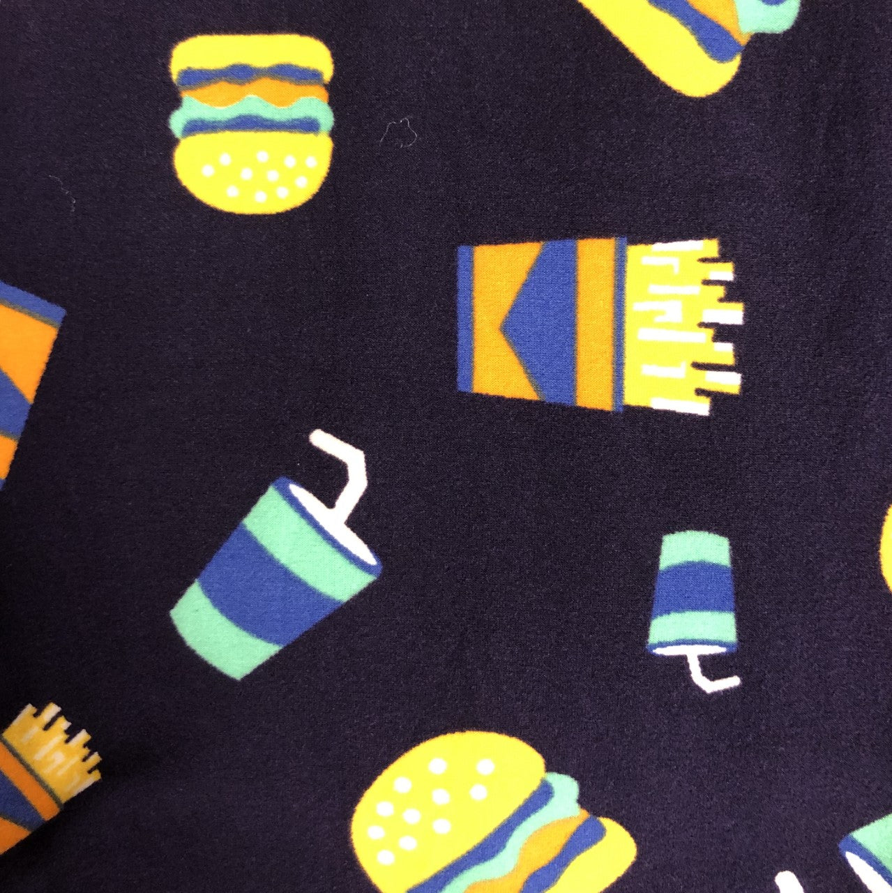 Burgers & Fries Leggings