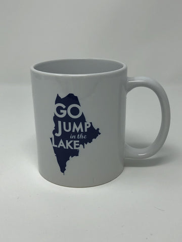 Go Jump In The Lake Maine Mug
