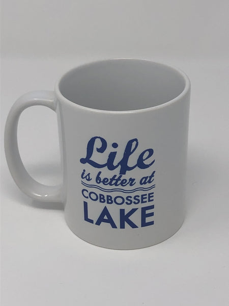 Life Is Better At The Lake (Maine) Mugs