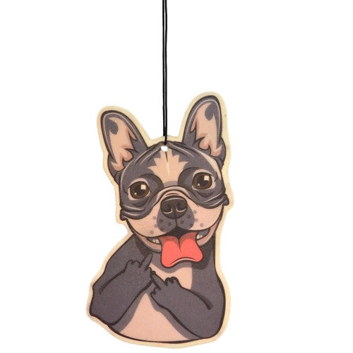 Dogs Flipping The Bird Air Fresheners