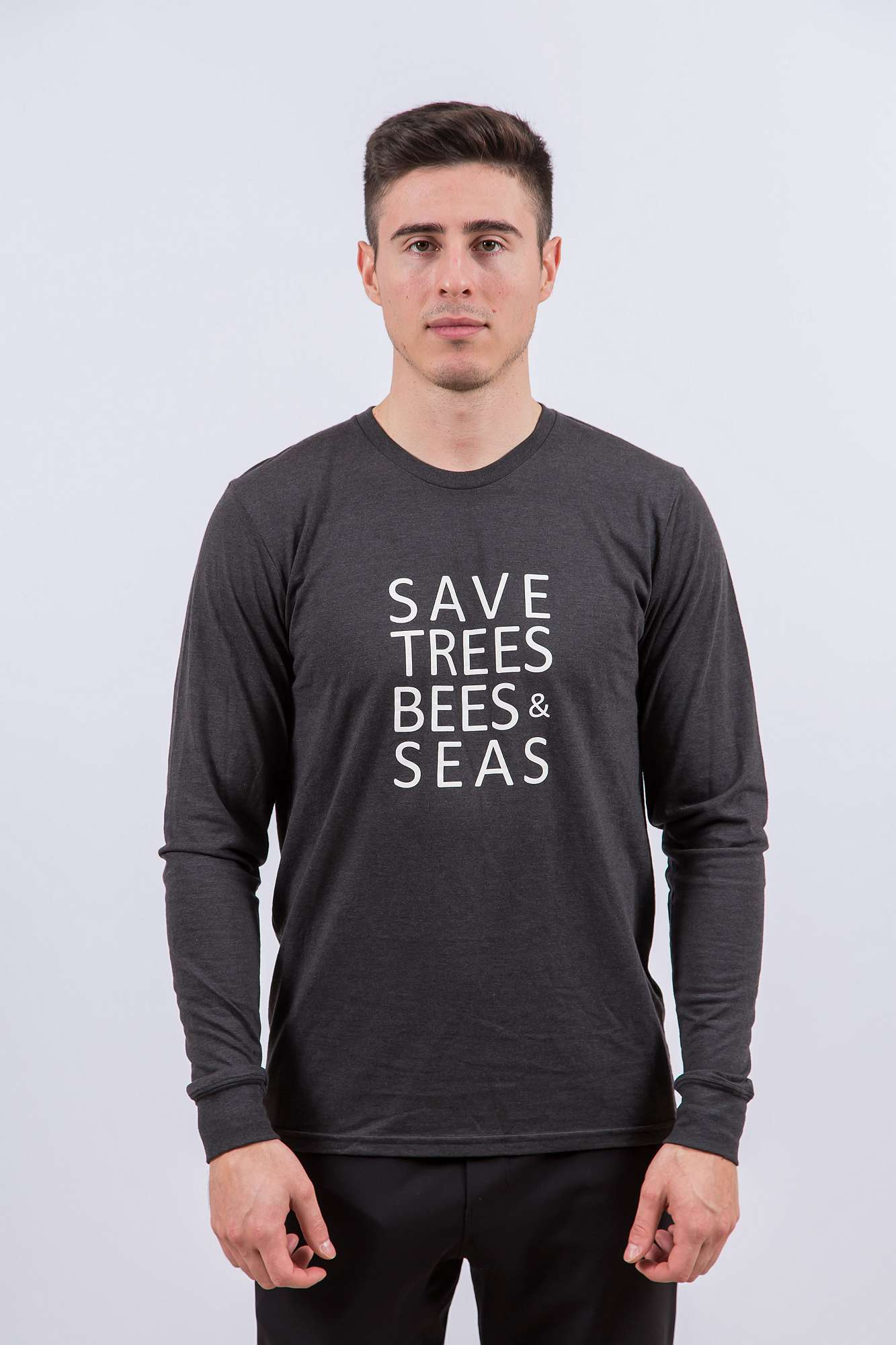 Save Bees, Trees and Seas (Long Black)