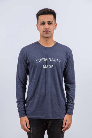 Sustainably Made (Long Blue)