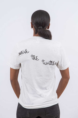 Save The Turtles (Short White)
