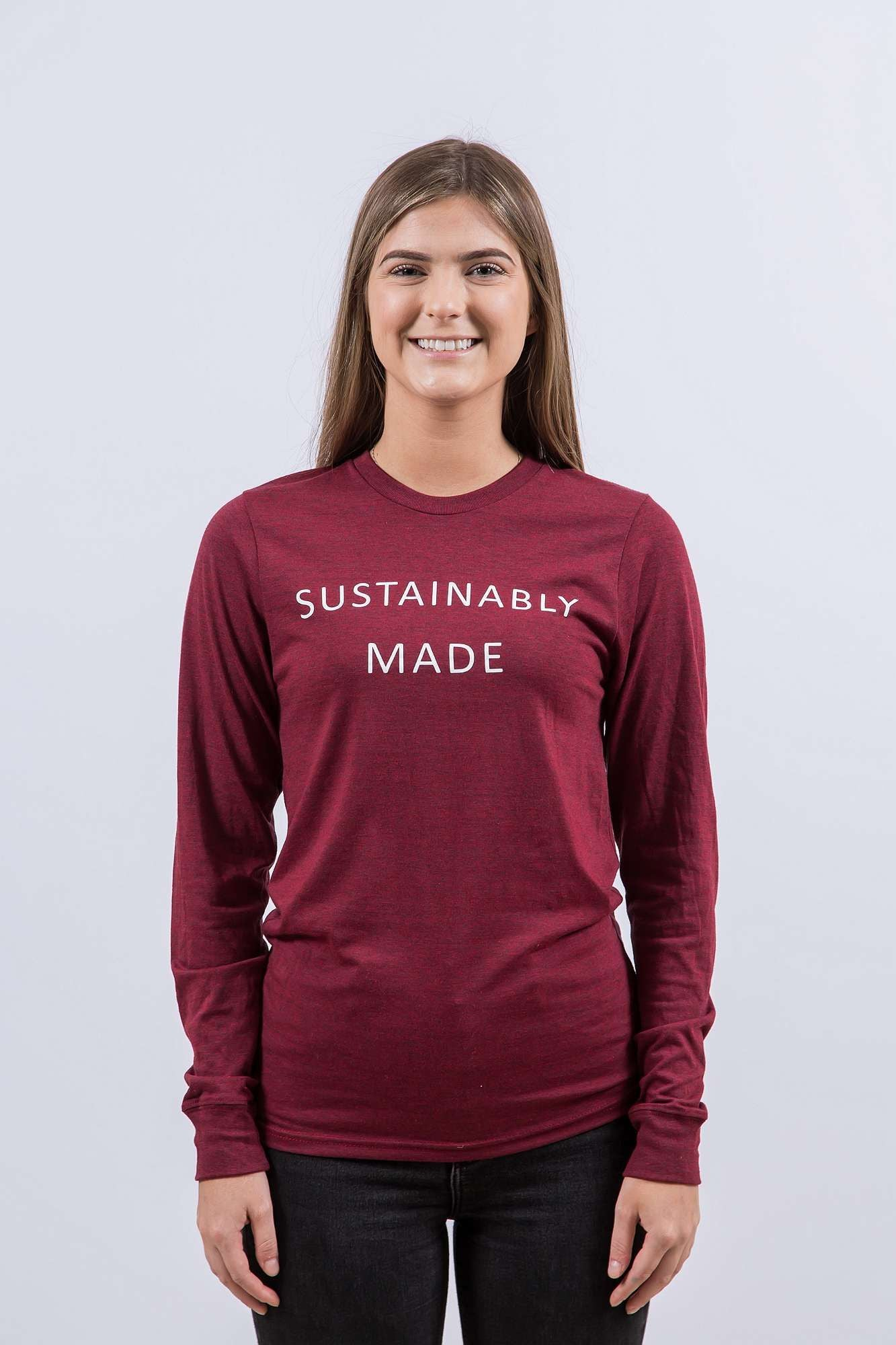 Sustainably Made (Long Red)