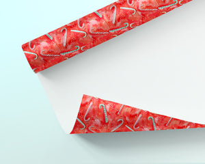 Roll of Holiday Wrapping Paper