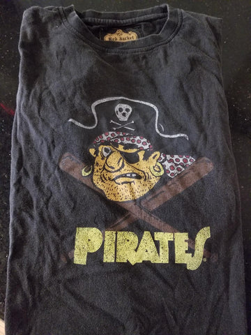 Pirates Black T-Shirt
