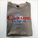 Women's Distressed Champs T-shirt