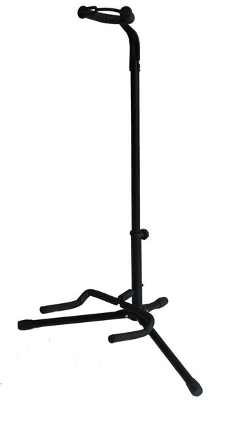 Top Stage Black Tripod Guitar Stand, with Secure Strap
