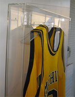 Clear Acrylic Jersey Display Case football baseball basketball Jersey frame, with Lock, UV Protection (AJC07)