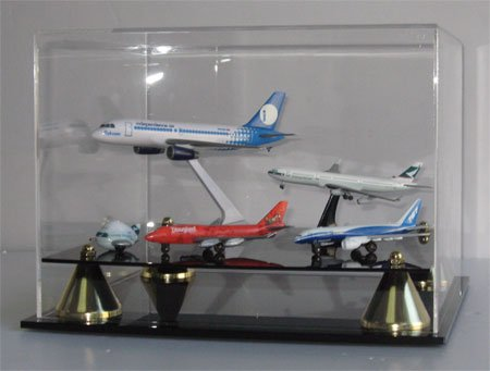 Hobby & Craft Display Case, with Elegant Stand - AC-AP013