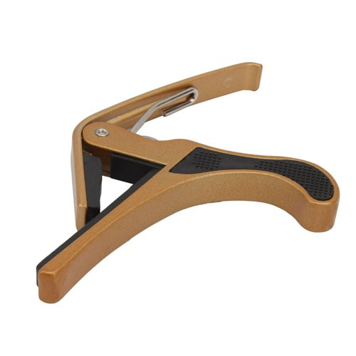 Top Stage Gold Clamp-Style Guitar Capo