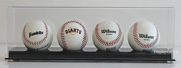 Baseball Holder Display Stand (4-Baseball Stand)