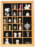 Collector Figurine Display Case Small Wall Curio Cabinet Shadow Box, Glass Door, TC02-OA