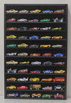 Hot Wheels Hotwheels Matchbox 1/64 Scale Model Cars Display Case Cabinet - NO DOOR (Black Wood Finish) HW10-BL