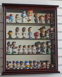 Sports Fan Toy Figures Action Figures Display Case Wall Curio Cabinet Shadow box, CD11-MA