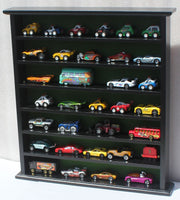 Hot Wheels Matchbox 1/64 scale Display =Stand, NO DOOR, HWGB20-BL