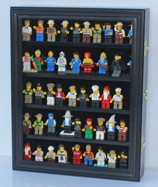 LEGO Minifigures Dimensions Display Case Thimble Wall Cabinet LG-CN30 (Black)
