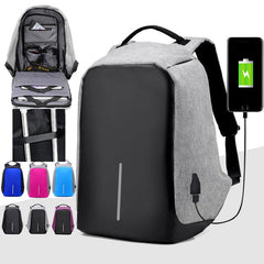 Anti Theft Backpack - USB Charge