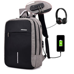 Arakan Anti Theft Backpack USB Charge