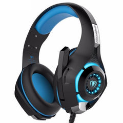 Leegoal Gaming Headset with Microphone for PS4/PC