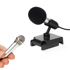 Mini Metal Microphone for Mobile Phone / Computer