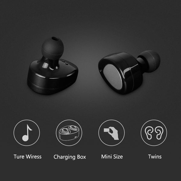 Earbuds Hands-free with Charging Box