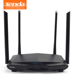 Tenda WiFi Router 1200Mbps 2.4G/5.0GHz  Wi-Fi Repeater, APP Remote Manage, English  Firmware