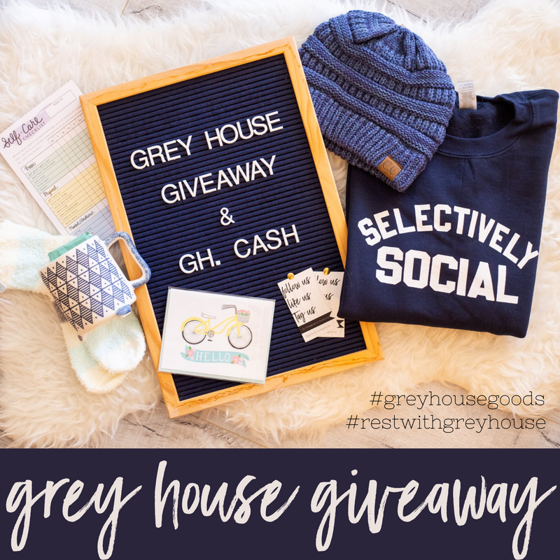 Rest With Grey House Giveaway