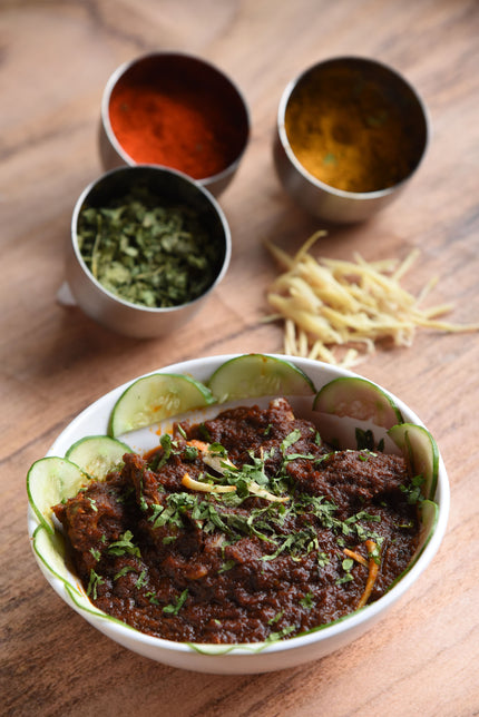 Mutton Bhuna Dry ( 4pcs)