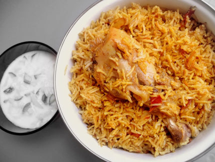 Chicken Biryani & Raita With Softdrink