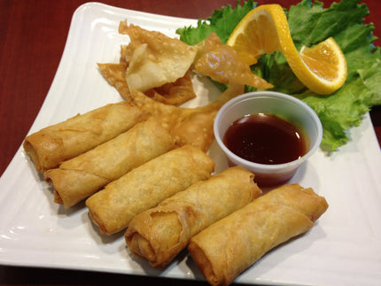 Chicken Spring Rolls (8pcs)