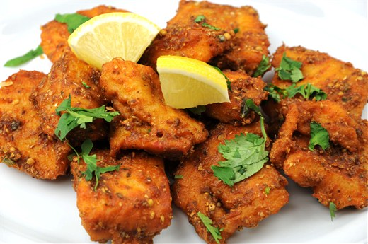 Fish Pakoda ( 6pcs)