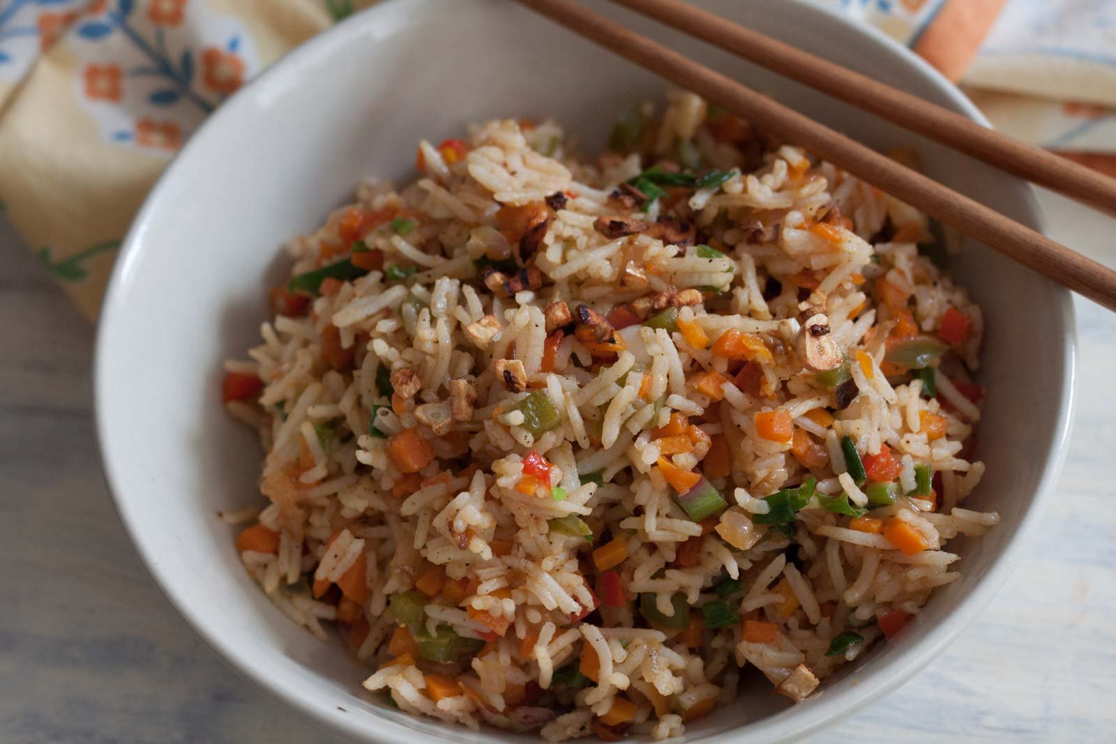 Chilly Garlic Fried Rice