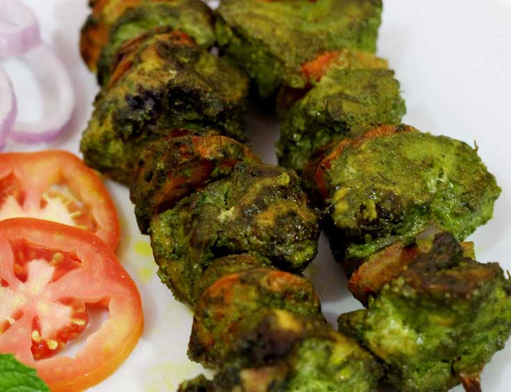 Chicken Hariyali Tikka (8pcs)