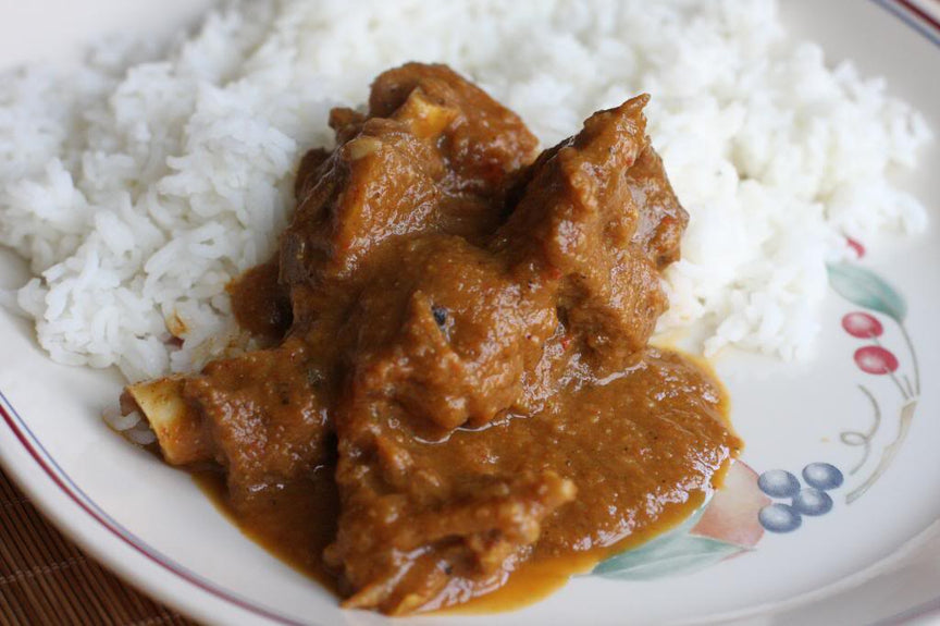 Jeera Rice & Mutton Gravy With Soft Drink
