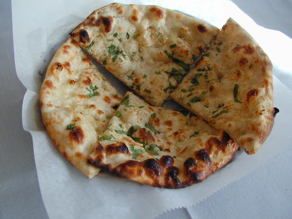 Mutton Keema Naan With Gravy