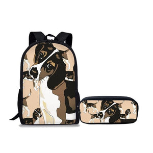Beagle Primary School Backpack 2Pcs/set - Back To School