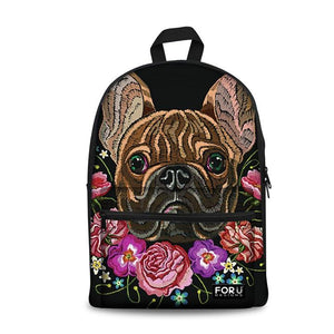 Bulldog School Backpacks 3 (have Pocket in Front) - Back To School
