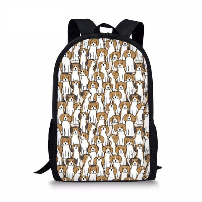 Beagles School Backpack 1- Back To School