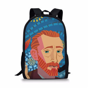 Character School Backpack 1- Back To School