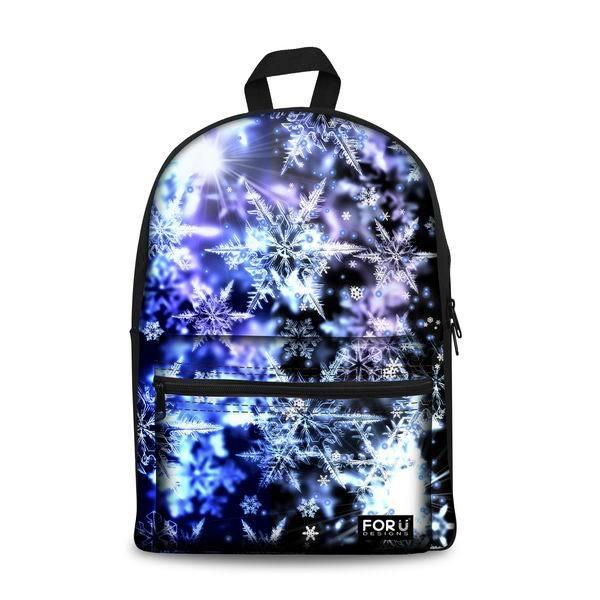 Colorful School Backpacks 3 (have Pocket in Front) - Back To School