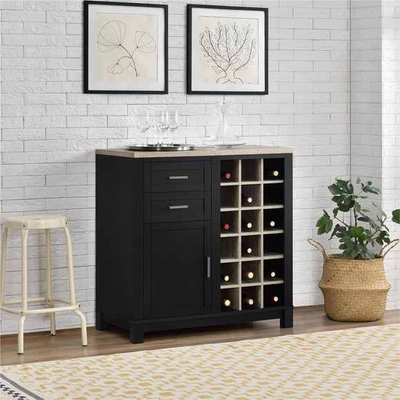 Better Homes and Gardens Langley Bay Bar Cabinet