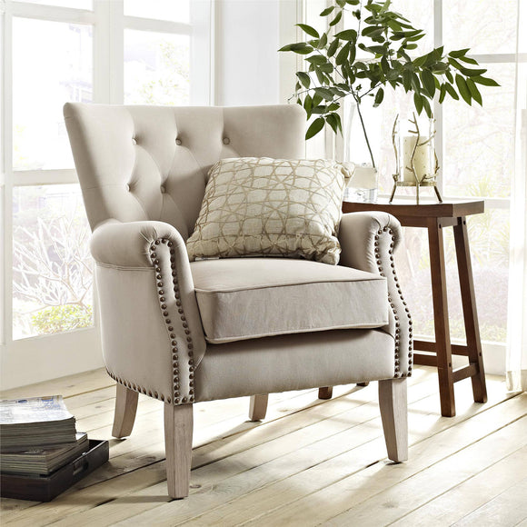 Better Homes & Gardens Rolled Arm Accent Chair
