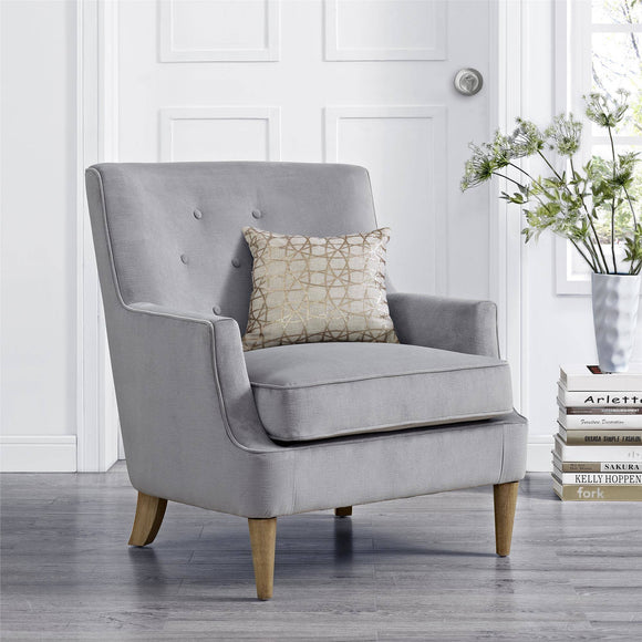 Mainstays Accent Chair, Gray