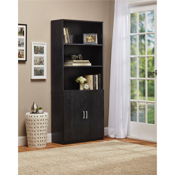 Ameriwood 3-Shelf Bookcase with Doors