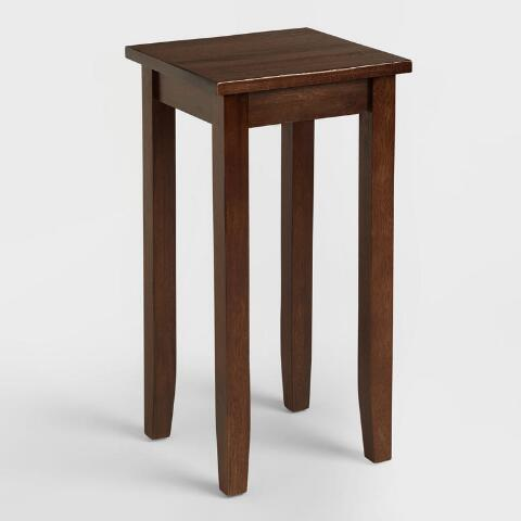 Small Mahogany Chloe Accent Table
